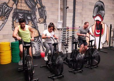 Vélos salle CrossFit Svarog